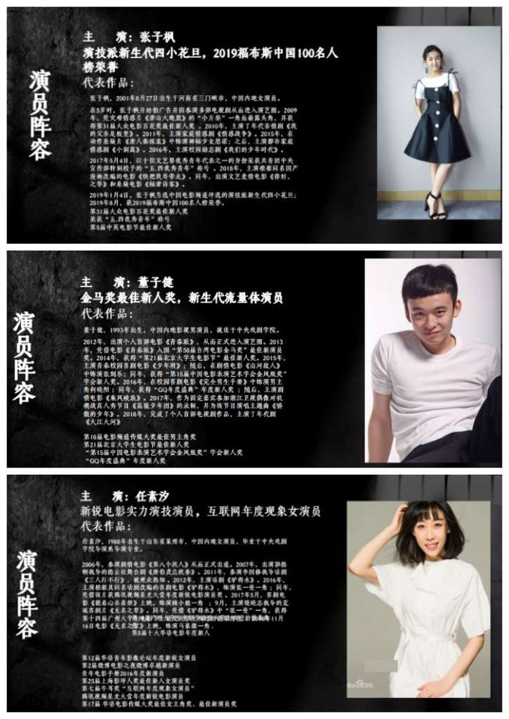 电影投资:张子枫任素汐新电影来袭,讲述《女子看守所》的故事